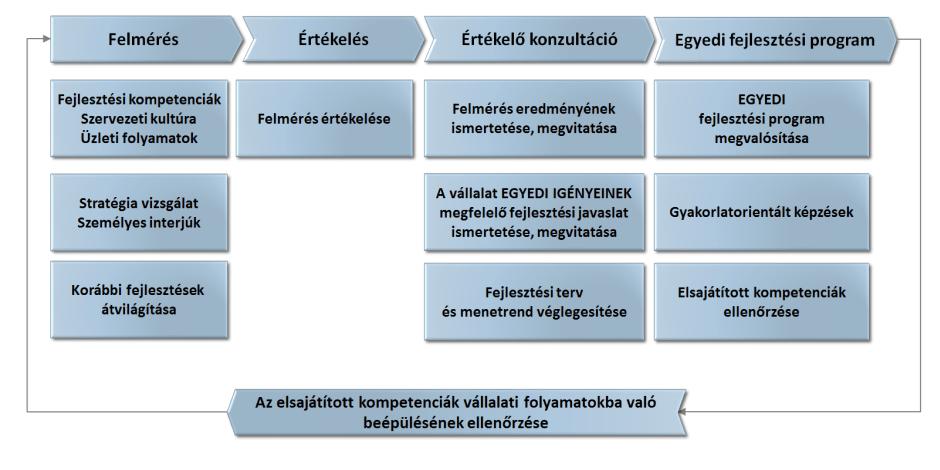 Innovációs potenciál fejlesztésének folyamata